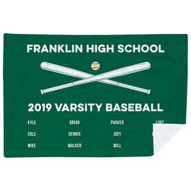 Baseball Premium Blanket - Team Roster