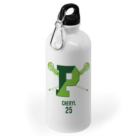 20 oz. Stainless Steel Water Bottle - Pentucket Youth Girls Lacrosse Logo Name Number