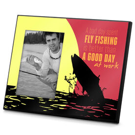 Fly Fishing Photo Frame A Bad Day Fly Fishing