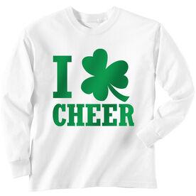 Cheer Tshirt Long Sleeve I Shamrock Cheer