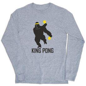Ping Pong Tshirt Long Sleeve - King Pong