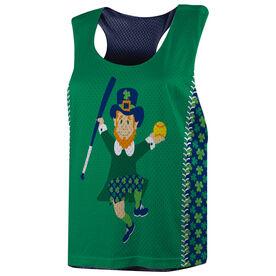 Softball Racerback Pinnie - Lucky Leprechaun