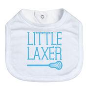 Lacrosse Baby Bib - Little Laxer