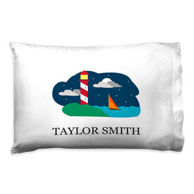 Personalized Pillowcase - View From The Sea