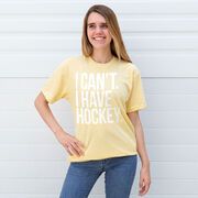 Hockey Short Sleeve T-Shirt - I Can't. I Have Hockey