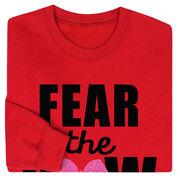 Cheerleading Crew Neck Sweatshirt - Fear the Bow