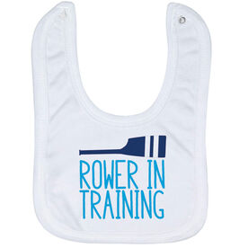 Crew Baby Bib - Rower in Training