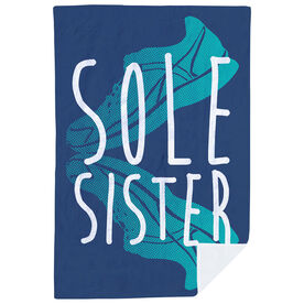 Running Premium Blanket - Sole Sister Love