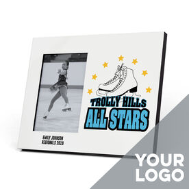 Figure Skating Photo Frame - Custom Logo