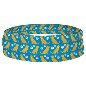 Multifunctional Headwear - Golden Retriever RokBAND