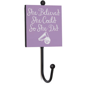 Cheerleading Medal Hook - She Believed She Could So She Did