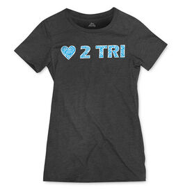 Women's Everyday Runners Tee LOVE 2 TRI
