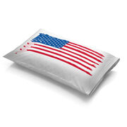 Hockey Pillowcase - American Flag Sticks