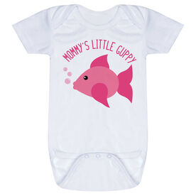 Swimming Baby One-Piece - Mommy's Litttle Guppy
