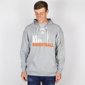 Basketball Sport Lace Sweatshirt Eat. Sleep. Basketball.