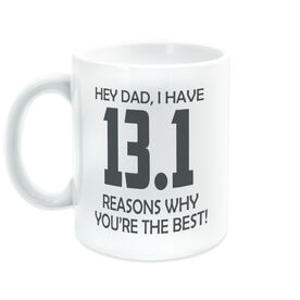 Running Coffee Mug - 13.1 Reasons Why You're The Best Dad