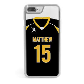 Guys Lacrosse iPhone® Case - Personalized Guys Lacrosse Jersey