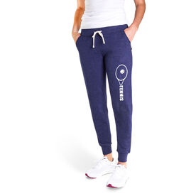 Tennis Women's Joggers - Tennis Racket