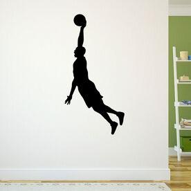 Hang Time Basketball Removable ChalkTalkGraphix Wall Decal