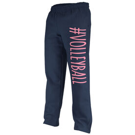 Volleyball Fleece Sweatpants #Volleyball