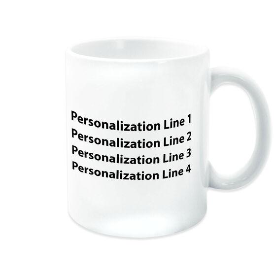 Wrestling Coffee Mug Custom Logo