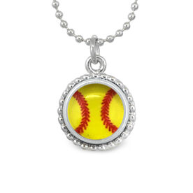 Softball SportSNAPS Necklace