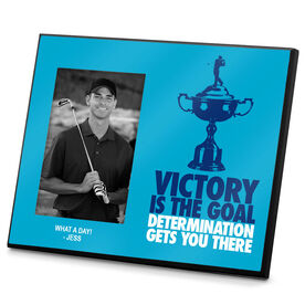 Golf Photo Frame Victory is the Goal Male