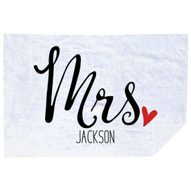 Personalized Premium Blanket - Mrs.