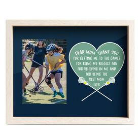 Girls Lacrosse Premier Frame - Dear Mom Heart