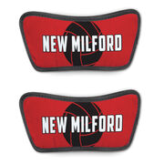 Volleyball Repwell® Sandal Straps - Volleyball with Text