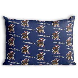Seams Wild Football Pillowcase - Woodwind   (Pattern)