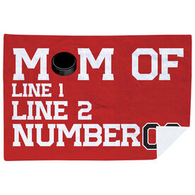 Hockey Premium Blanket - Personalized Hockey Mom