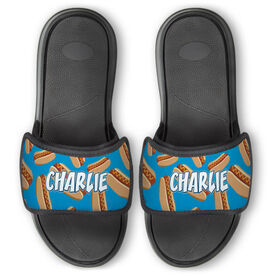 Personalized For You Repwell™ Slide Sandals - Hot Dogs
