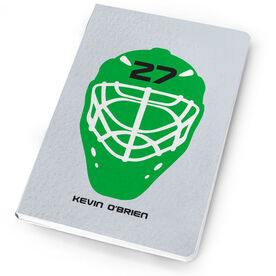 Hockey Notebook Goalie Mask