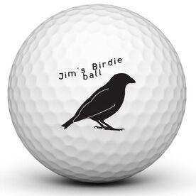 Personalized Birdie Ball Golf Ball