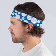 Volleyball Multifunctional Headwear - Tossed Ball Pattern RokBAND