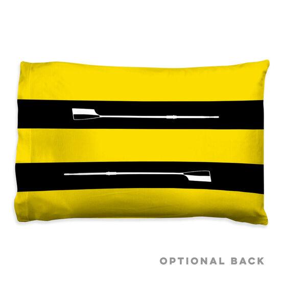 Crew Pillowcase - Custom Club - Team Colors 2 Horizontal Stripes