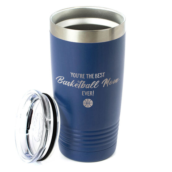 Basketball 20oz. Double Insulated Tumbler - You're The Best Mom Ever