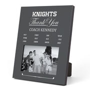 Golf Photo Frame - Thank You Coach Roster