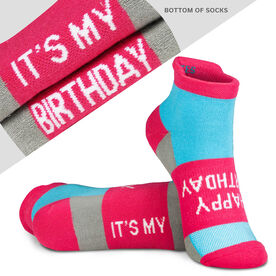 Socrates® Woven Performance Sock - Happy Birthday