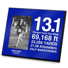 Running Photo Frame 13.1 Math Miles