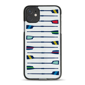 Crew iPhone® Case - Oar Pattern
