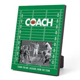 Football Photo Frame - Coach (Field)