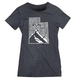Women's Everyday Runners Tee Utah State Runner