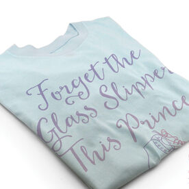 Vintage Figure Skating T-Shirt - Forget The Glass Slipper This Princess Wears Ice Skates