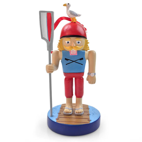 Crew Nutcracker Resin Ornament