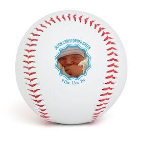 Custom Baseball Birth Announcement