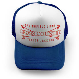 Cross Country Trucker Hat - Personalized Crest