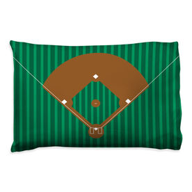 Baseball Pillowcase - Field