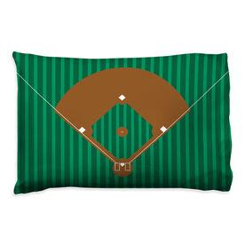 Baseball Pillowcase - Field